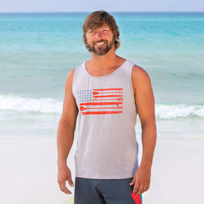 30A Paddle Board USA Unisex Tank