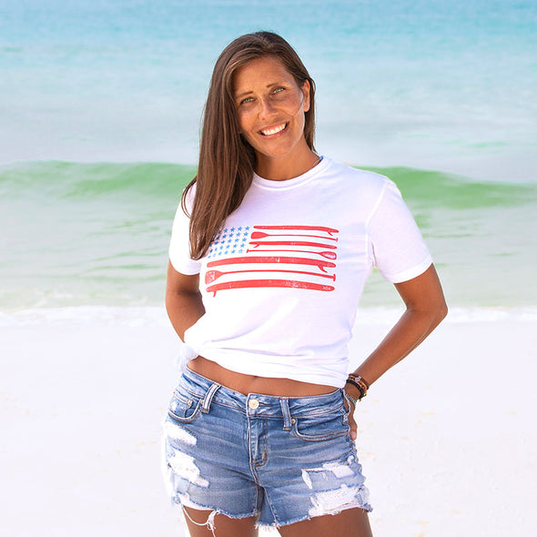 30A Paddle Board USA Recycled Tee