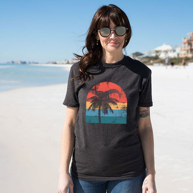 Vintage Palm Tree Recycled Tee