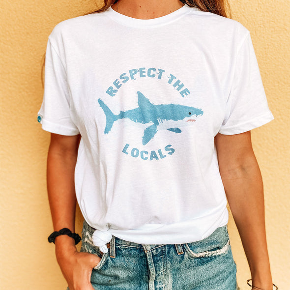 Respect The Locals Recycled Tee