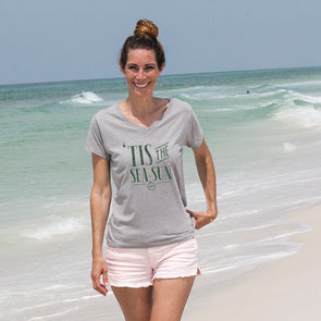 30A Tis the Sea-Sun Recycled Shirts