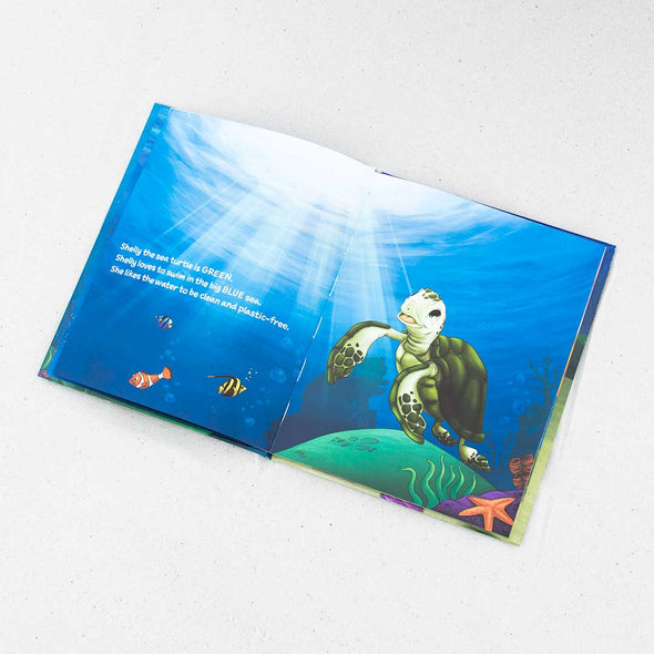 Shelly the Sea Turtle Book