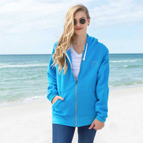Thirty-A Square Full Zip Sweatshirt