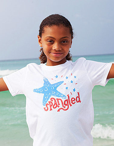 star spangled shirt for kids