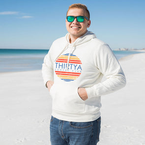 ThirtyA Sunset Club Recycled Hoodie Sweatshirt