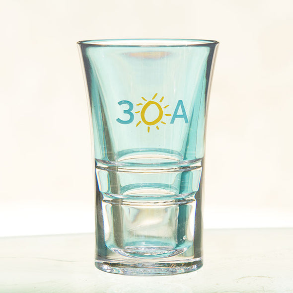 Synthetic shot glass