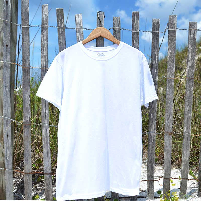 solid (no design) recycled shirt