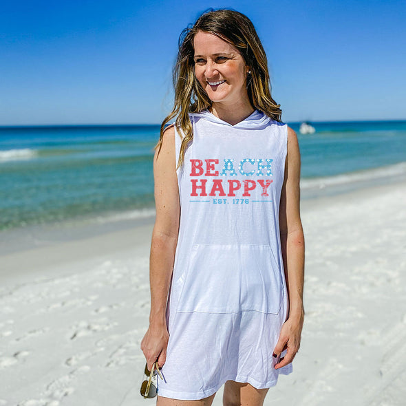 USA Beach Happy Recycled Coverup