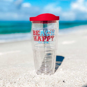 USA Beach Happy Tervis Tumbler