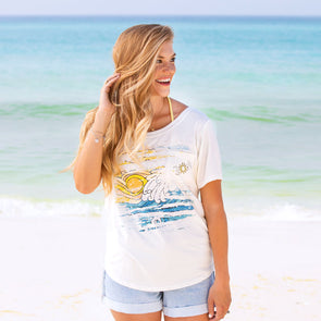 758368af30 women's beach shirts, recycled women shirts, recycled women beach ...