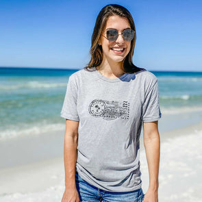 Beach Stamp Recycled Tee