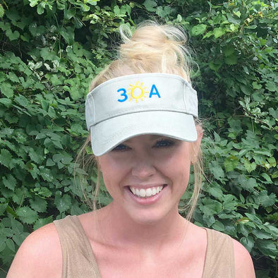 Embroidered 30A Visor