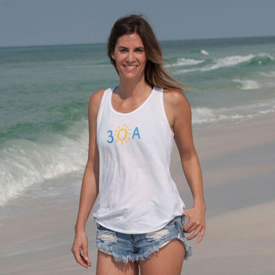 30A Hand-Drawn Recycled Tank Top