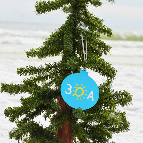 30A Wooden Ornament