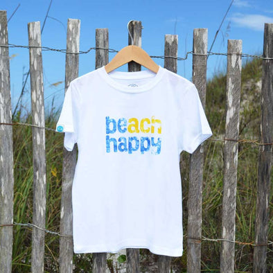 30A Beach Happy Recycled Shirts for Kids