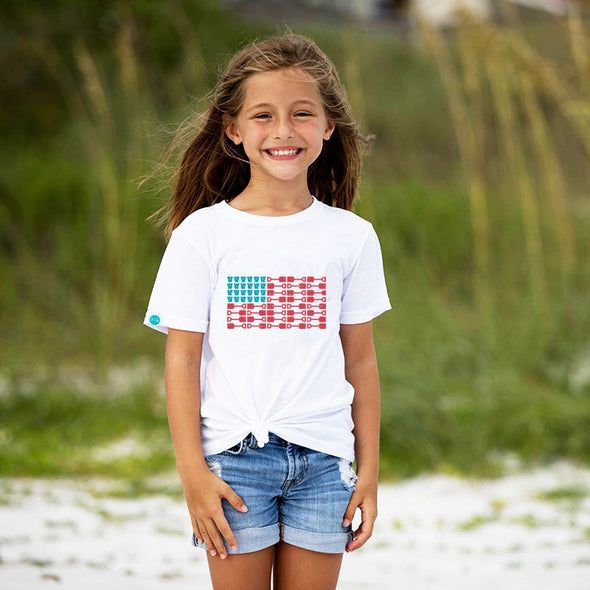 Youth Flag Recycled Tee