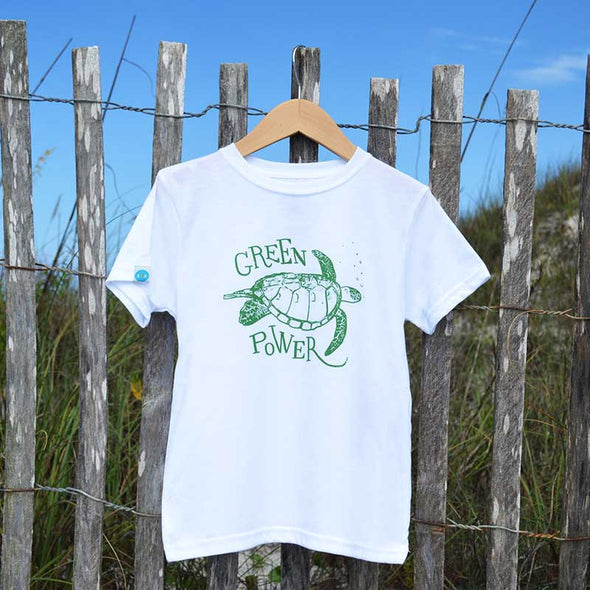 30A Turtle Power Recycled Shirt for Kids