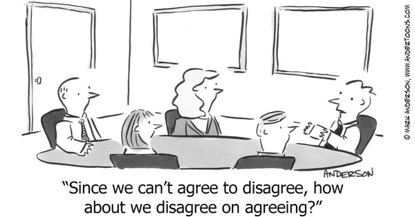 Energy Disagreement Cartoon