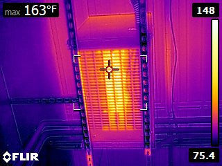 FLIR E8 Sample Thermal Image