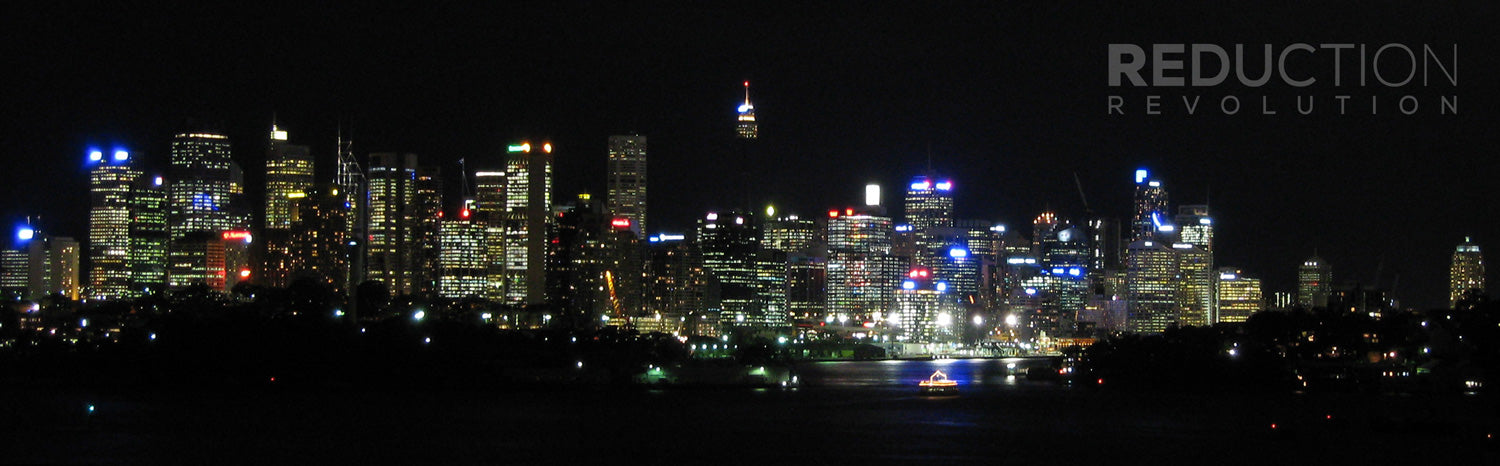 Earth Hour Sydney Before Photo