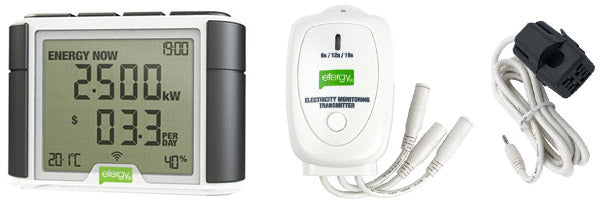 Efergy Elite Home Energy Monitor Components