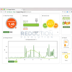 Efergy Engage Hub Solar Energy Monitor Dashboard Screenshot 1