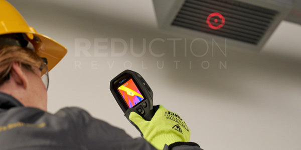 FLIR TG165-X thermal imager can be used for HVAC inspections