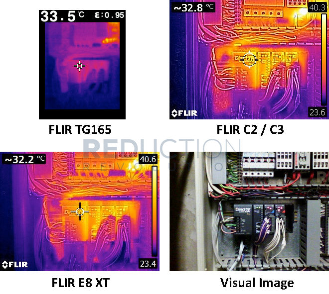 FLIR Thermal Sample Images - Electrical