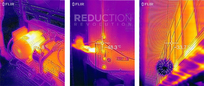 FLIR ONE Sample Images