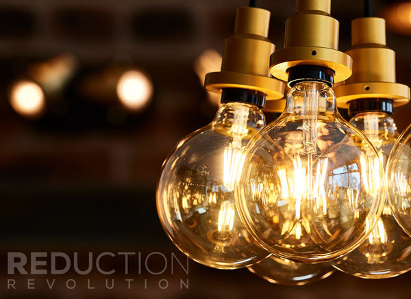 G125 Filament LED Light Globes With Pendant Lights