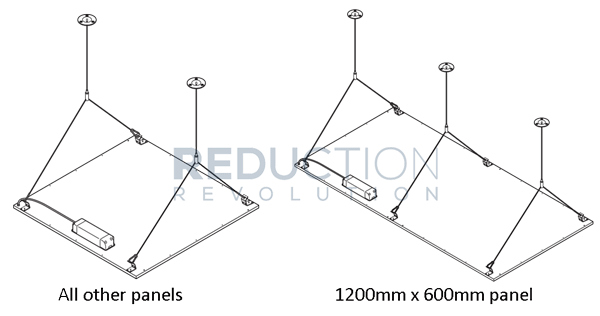 LED Wire Suspension Kit