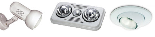 Example R63 light fittings