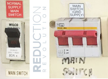 Electricity Main Switch