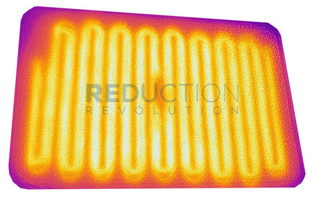 Foot Mat Heater Thermal Image