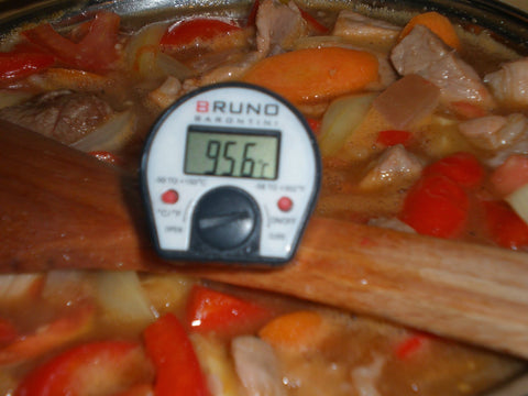Thermal Cooker Temperature