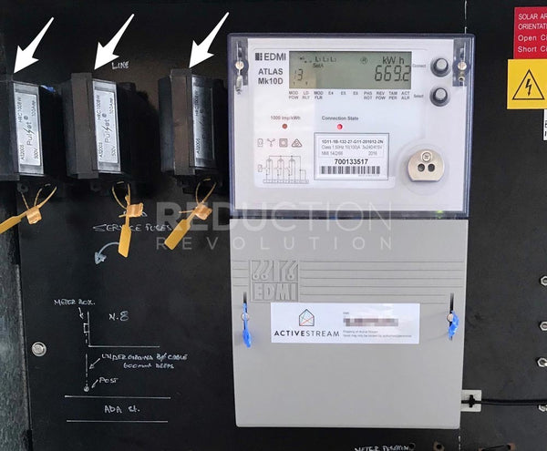 Three phase power supply and electricity meter