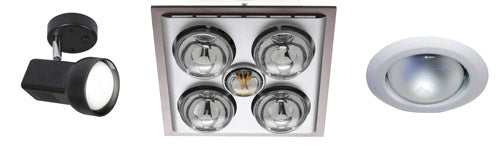 Types of R80 light fittings