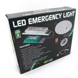 EzyFit LED Spitfire Recessed Emergency Backup Light 2W