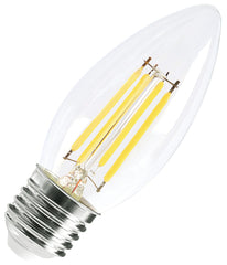 LED Filament Candle Bulb E27 4W Dimmable