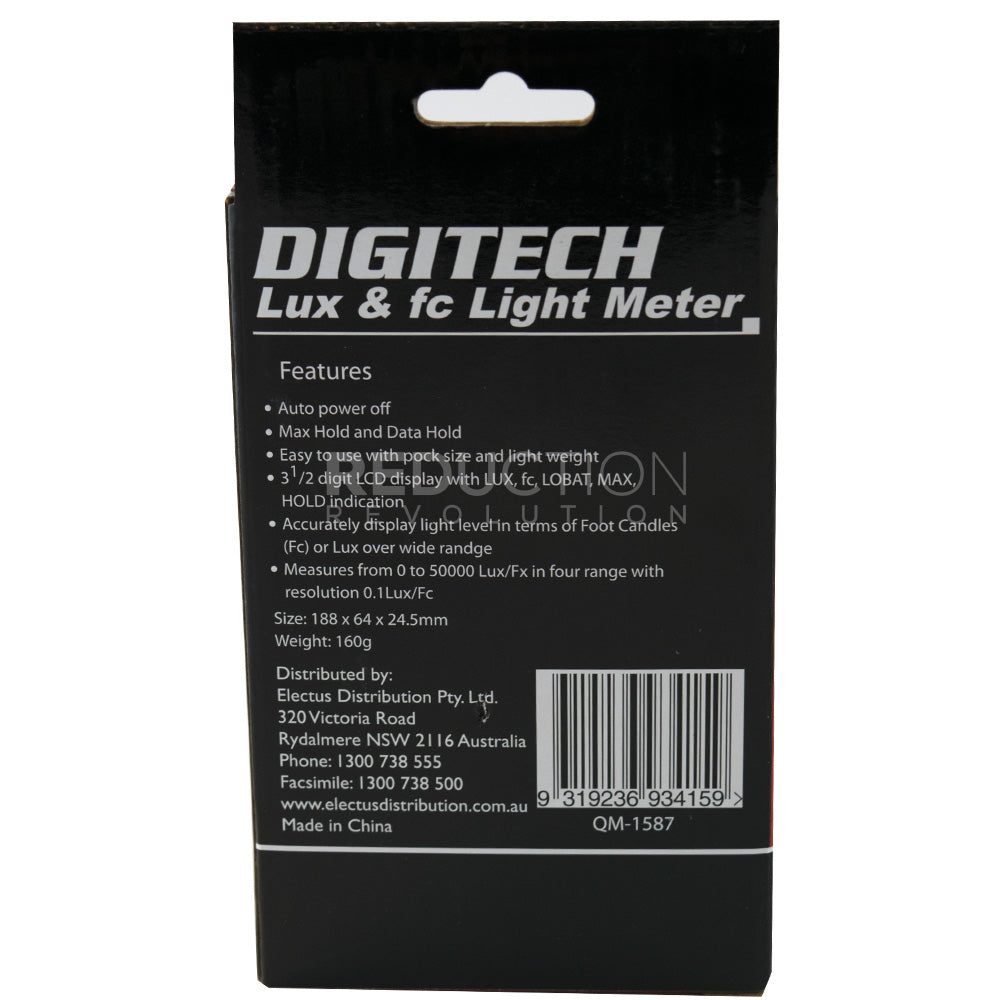 Lux Meter To Measure Led