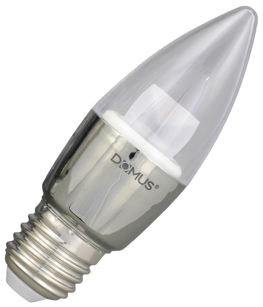Domus LED Candle Bulb E27 6W Dimmable