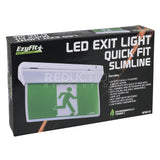 EzyFit Multi-fit 'Quick Fit' Slimline LED Exit Light 3.5W