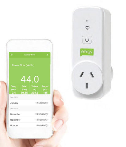 Efergy Ego Smart Power Socket & App