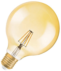 Osram LED Filament G125 Bulb E27 7.5W Dimmable