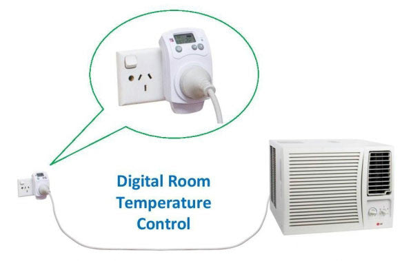 Heatermate Plug In Heating Amp Cooling Thermostat