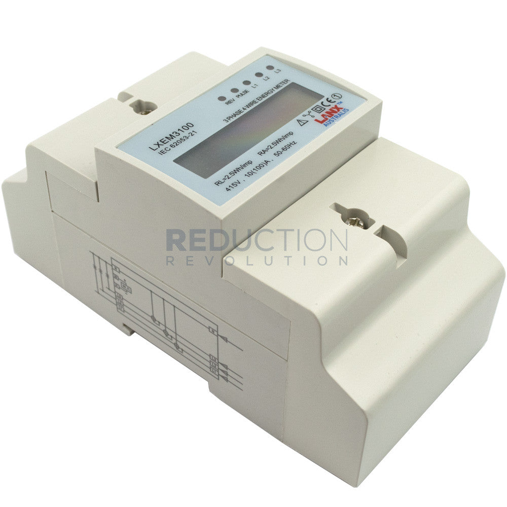 Three Phase Electricity Sub Meter 100 Amp 400 Wiring Diagram Get Free Image About