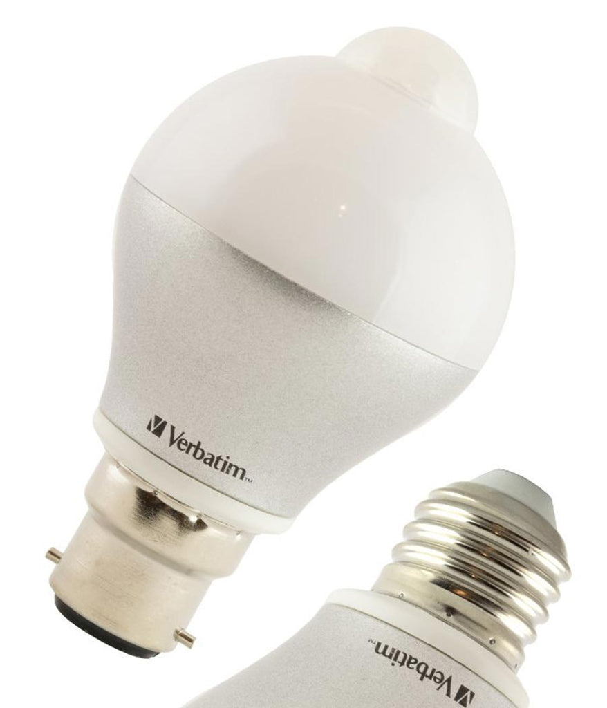 Verbatim LED Bulb 6W with Motion Sensor