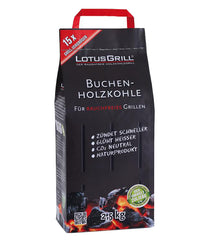LotusGrill Beech Lump Charcoal 2.5kg Bag