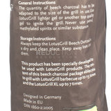 LotusGrill Natural Beech Lump Charcoal 2.5kg Bag