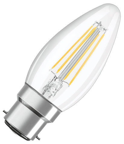 Osram LED Candle Bulb B22 Filament